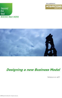Designing a New Business Model | Beyond the Deal